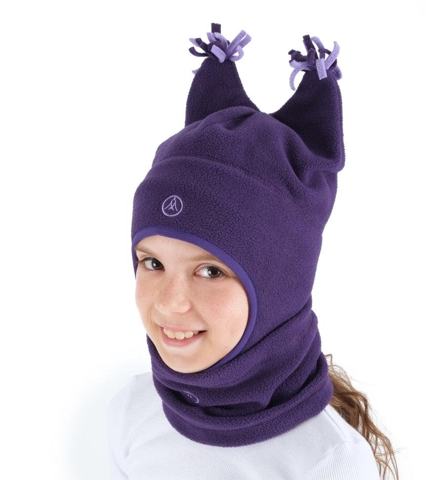 1e410af48bd8 Шапка и шарф-снуд (purple) купить в Иркутске - интернет-магазин ...